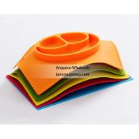 Buy cheap Custom made any different shape Silicone Baby and Toddler Divided Plate product