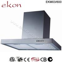 Buy cheap CE CB SAA GS Approved 60cm Wall Mount Stainless Steel Range Hood product