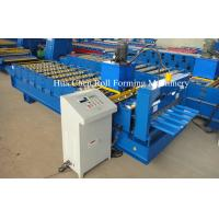China  CNC Colored Steel Roofing Sheet Roll Forming Machine For Steel Roof And Wall  for sale