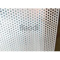 Buy cheap Carbon Steel Metal Perforated PanelsRound Hole , Perforated Stainless Steel Plate product