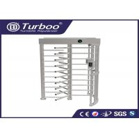 Buy cheap Workshop Manual Full Height Turnstile Self Resetting Function ISO9001 CE Certificate product