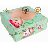 Buy cheap Disposable Cardboard Food Packaging Boxes , Personalised Cardboard Takeaway Boxes product