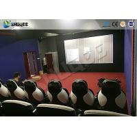 Buy cheap Park 9D Cinema Seat With Electric / Pneumatic System Round Screen product