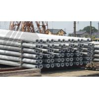 Buy cheap Hollow pole Concrete Pole Steel Mould Concrete Pole Equipment dense and high strength product