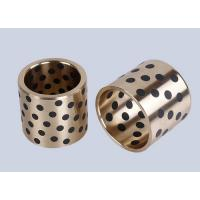 Buy cheap Casting Bronze Bearings , Strengthening Brass With Solid Lubricant Casting from wholesalers