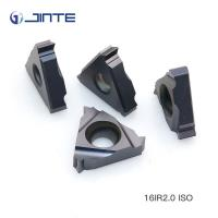 Buy cheap AT500 Grade Thread Turning Inserts , 16ER 2.0ISO Cnc Threading Tool Wear Resistant product