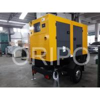 Buy cheap 30kw lister petter generator price of 40kva diesel generator set with trailer product