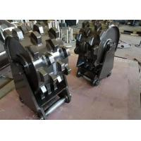 Buy cheap Durable Compaction Wheel Excavator Attachment / Steel Wheel Compactor product
