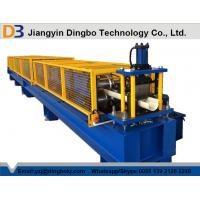Quality Fully Automatic Cold Roll Forming Machine , Portable Seamless Gutter Machine for sale