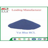 Buy cheap 100% Purity Blue Vat Dye RCL Vat Dyes Dyestuffs Powder For Cotton Fabric product