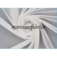 Buy cheap Plain Dyed White Power Mesh Fabric 84% Nylon 16% Spandex 20D/70D 75gsm product