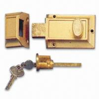 Buy cheap Deadbolt Lock, Made of Zinc-alloy product