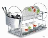 dish rack with tray &cutlery holder-LFD1025