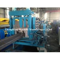 Buy cheap 3 Roller Z Purlin Roll Forming Machine For Large Warehouse 2 - 3mm Thickness product