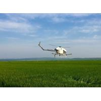 Buy cheap Precision Drone Agriculture / Flybarless Gas Powered RC Helicopter 5-6 Meters Spraying Width product