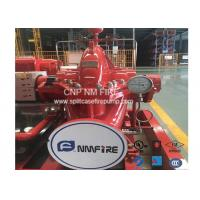 Buy cheap 2000GPM / 135PSI Horizontal Split Case Fire Pump Ductile Cast Iron Materials UL Listed product