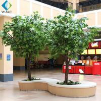 Buy cheap Indoor Decoration Artificial Tree Plant , Artificial Chinese Phoenix Tree product