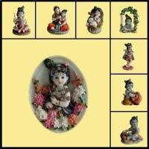 Buy cheap Religious Statue/Hindu God Statue/Indian God/ Shri Krishna Leela product