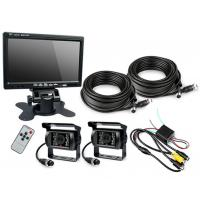 """Buy cheap HD Waterproof IP67 Rugged Truck Trailer Reverse Camera With Colour 7"""" LCD Monitor product"""