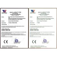 Wuxi putian special spraying equipment CO.,LTd Certifications