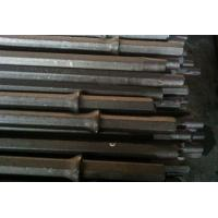 China  11 Degrees Taper Hex 22 Integral Drill Rod , Shank 22 mm x 108 mm for Mining Drilling  for sale