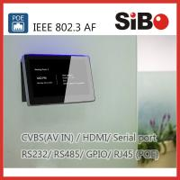 Buy cheap Meeting Room Booking 7 Inch Android POE Touch Panel With RGB LED Light product