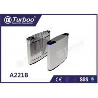 Buy cheap 304 Stainless Steel Optical Barrier Turnstiles With Multiple Anti - Pinch product