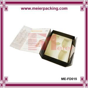 China Handmade Beautiful Design wine glass gift box ME-FD015 on sale