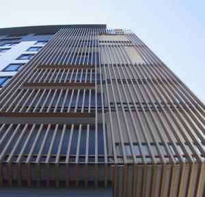 Buy cheap Awning Sliding Acoustic Window Aluminium Sun Shade Louvres product