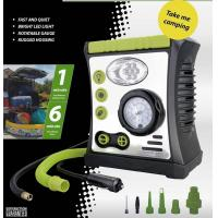 Buy cheap Car Air Pump with Lamp, Warning, Inflation function, DC 12V 100PSI from wholesalers