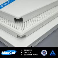 Buy cheap Sound Absorbing Ceiling Tiles and Round Hole Perforated Screen product