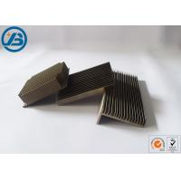 Buy cheap AZ31B Mag Extrusion Profile Heat Sink Radiator With Customized Color Size product