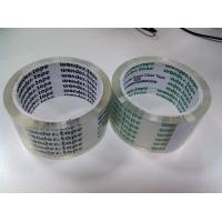 Buy cheap Heat Resistant BOPP Packaging Tape Transparent Arylic For Carton Sealing product