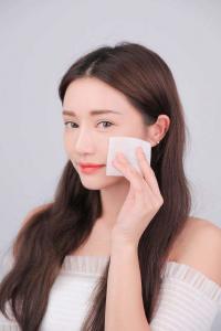 China Biodegradable 210cm Beauty Care Spunlace Nonwoven Fabric on sale