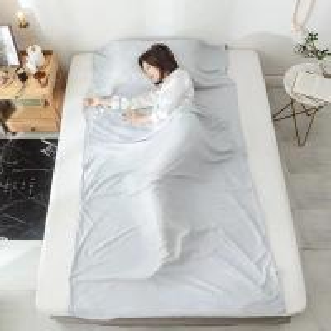 Buy cheap 100 Silk Sleeping Bag Liner , Dirt Proof Sleeping Bag Inner Sheet product