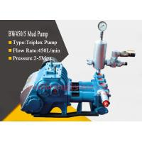Buy cheap Borehole Drilling Triplex Piston Mud Pump with 3 Bore and 4 Gear Speed product