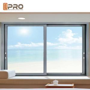 Buy cheap Thermal Break Aluminum Sliding Windows With Double Glass Eco Friendly SLIDING WINDOW GRILL sliding side window nigeria product