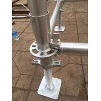 China Galvanized Construction Frame Kwikstage Ringlock Cuplack scaffolding system for sale on sale
