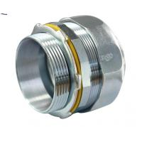 Buy cheap New Style Malleable Iron Fittings 1 1 2 Liquid Tight Connector Zinc Plated product