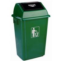 Quality Plastic outdoor dust bin/Waste / Garbage basket product for sale