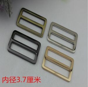 Buy cheap Factory outlets gunmetal zinc alloy 37 mm adjustable slide buckles for handbag hardware product