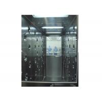 Buy cheap Stainless Steel Tunnel Air Shower With Automatic Door , Clean Room Equipment product