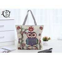 Buy cheap Canvas Reusable ECO Shopping Bags Sustainable Natural Tote Bags with Lining Pocket product
