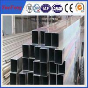 China High technical shaped flat aluminium tube, aluminium tube(pipe) profile supplier in china on sale