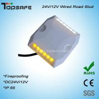 Buy cheap Dia 5mm LED Plastictunnel LED Wired Road Stud product