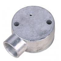 Buy cheap 20mm / 25mm Conduit Junction Box / One Way Junction Box ISO9001 / SGS Approval product