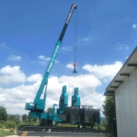 Buy cheap 8600KN Concrete Drilling Hydraulic Pile Driving Machine product