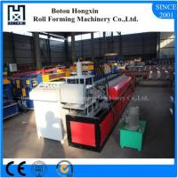 Buy cheap Galvanized Profile Shutter Door Roll Forming Machine with PLC Control System product