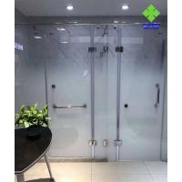 Buy cheap Safety Frosted Fading Glass Single Glass Raw Material For Shower Room product