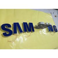 Buy cheap Samsung Epoxy Resin Lighted Channel Letters , Injection Plastic Wall Mounted Letters product